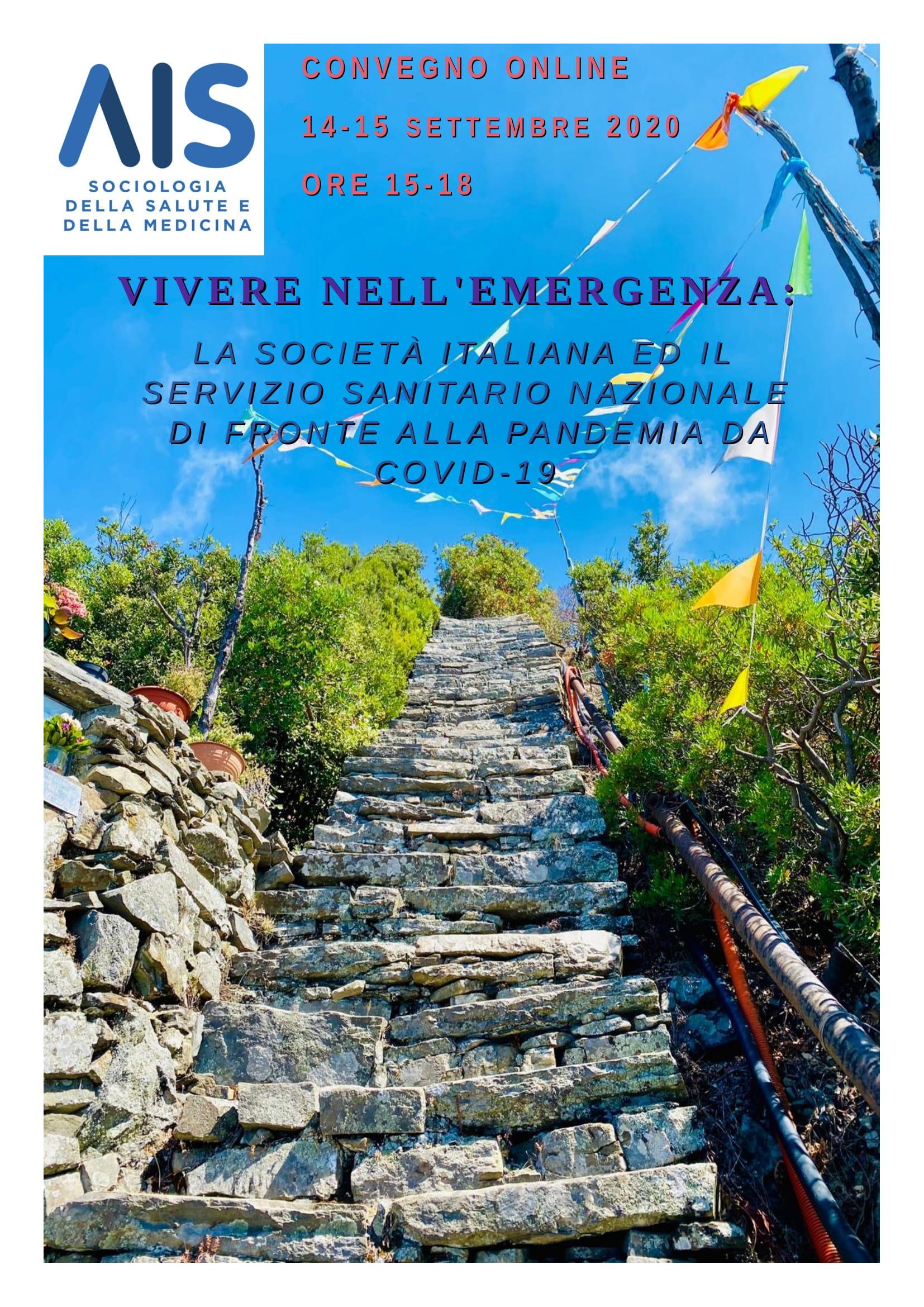 """convegno """"Vivere nell'emergenza"""""""